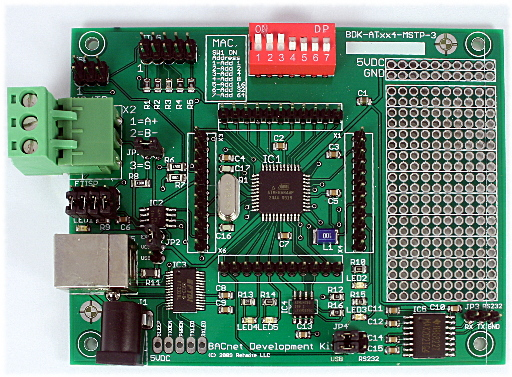 BACnet MS/TP Development Kit